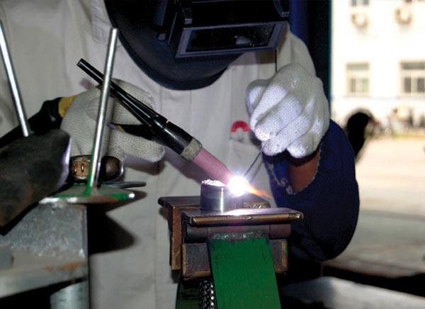 焊接工艺现场